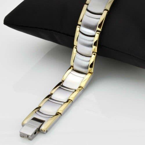 mens magnetic bracelet for pain arthritis relief health bracelet healing armband tt18