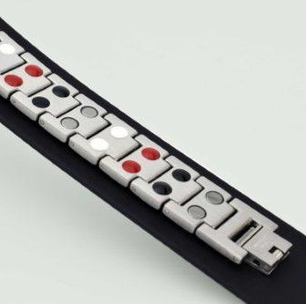 mens magnetic bracelet stainless steel arthritis pain relief health healing bracelet sg4