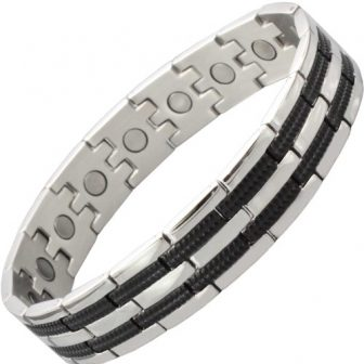 stainless steel magnetic bracelet for men arm