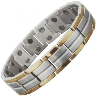 titanium magnetic bracelet pain releif magnetic therapy mens tt 30