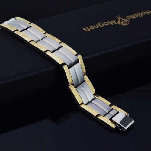 titanium magnetic bracelet pain relief magnetic therapy mens tt 30