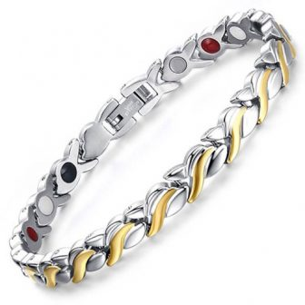 magnetic bracelet womens hhealth healing magnetic therapy ion energy pain relief sgb4