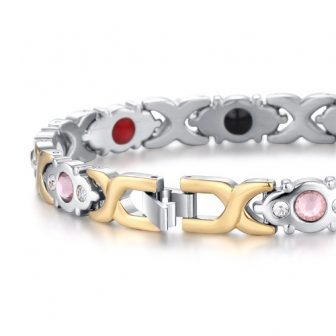 magnetic bracelet women energy bracelet health healing pain relief magnetic therapy bracelet pg4