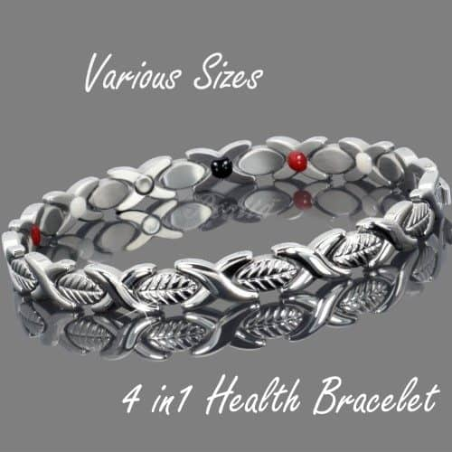 magnetic health healing bracelet pain relief magnetic therapy ion energy balance wristband for women spc