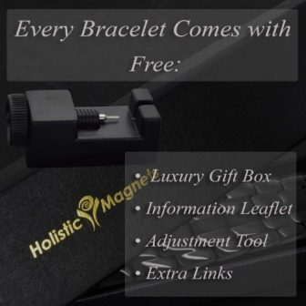 Titanium magnetic bracelet men pain relief healing magnetic therapy health bracelet bt 600