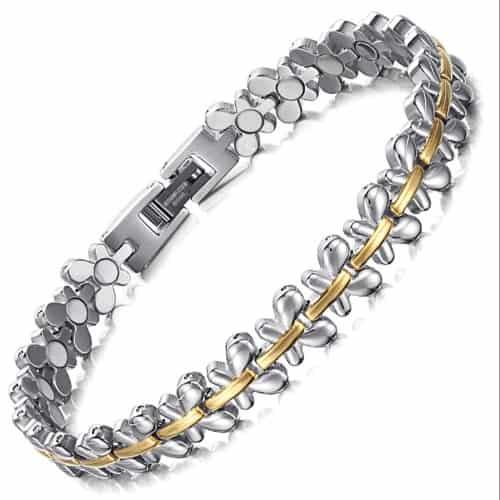 Magnetic Bracelet for Women Osteoarthritis Rheumatoid Arthritis Joint Muscular Wrist Arm Pain Relief FLM
