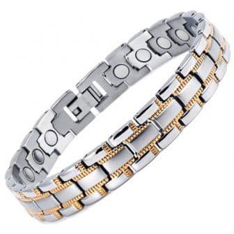 ZS mens womens titanium magnetic bracelet arthritis pain relief