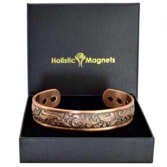 Ladies Copper Magnetic Bracelet