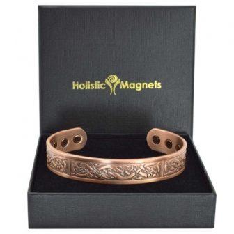 Mens copper bracelet Ireland - Viking
